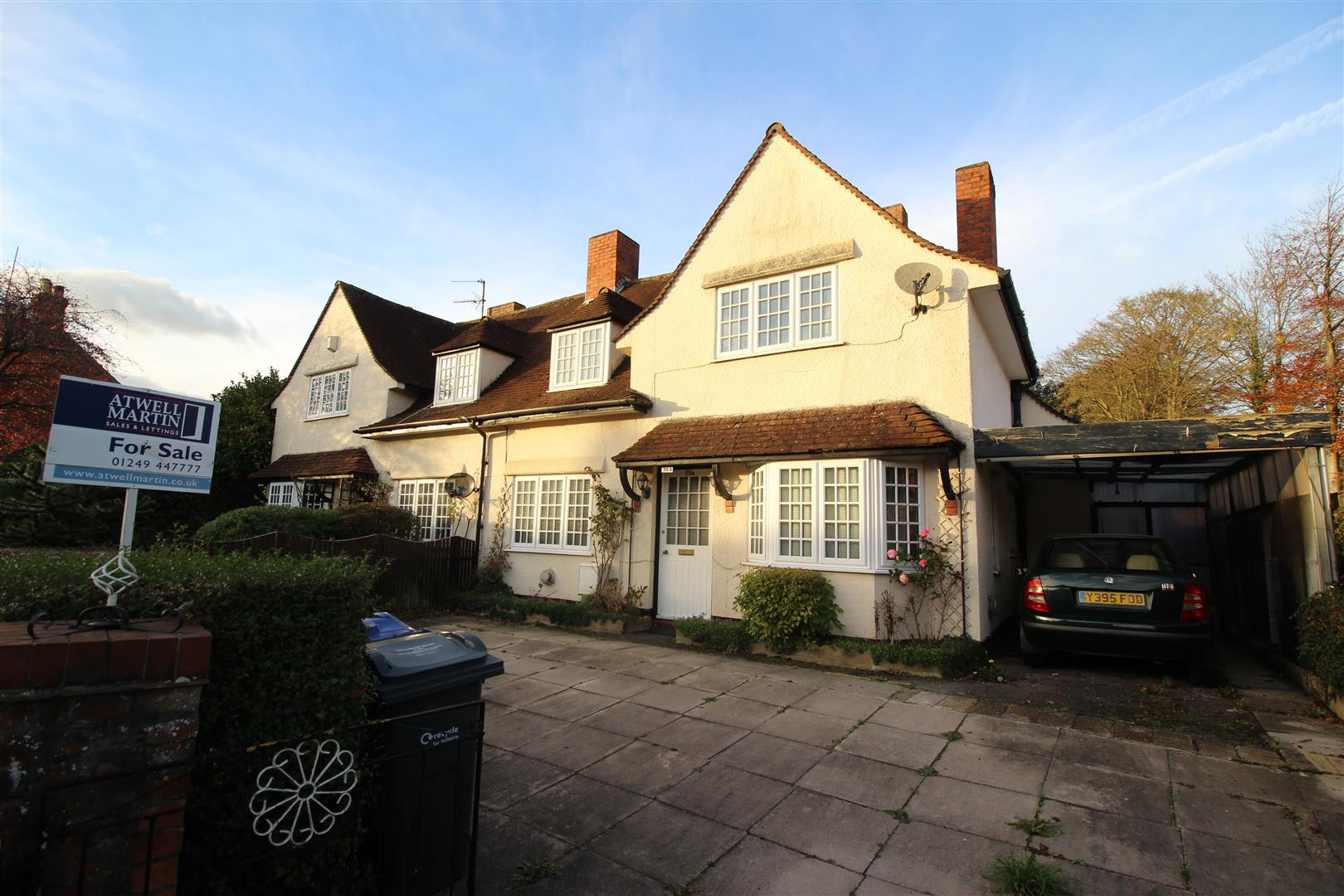 3 Bedrooms Semi Detached House for sale in Park Lane, Chippenham
